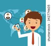 people doing actions design ...   Shutterstock .eps vector #342774605