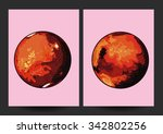 the planet mars. water on the...