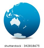 australia and new zealand ... | Shutterstock .eps vector #342818675