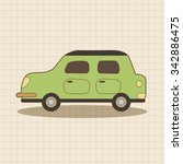 transportation car theme... | Shutterstock .eps vector #342886475