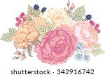 Vector Illustration Floral...