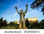philadelphia   oct 20  the... | Shutterstock . vector #342920672