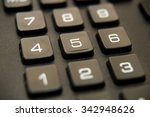 black button device for... | Shutterstock . vector #342948626