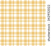 checkered yellow seamless... | Shutterstock .eps vector #342952022