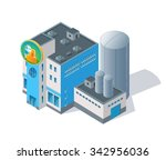 isometric vector image of a... | Shutterstock .eps vector #342956036