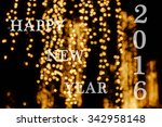 blur background and celebration ... | Shutterstock . vector #342958148