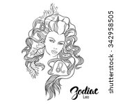 zodiac. vector illustration of... | Shutterstock .eps vector #342958505
