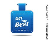get the best blue vector icon... | Shutterstock .eps vector #342984992