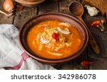 kapustnyak   ukrainian cabbage... | Shutterstock . vector #342986078