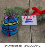 label with an inscription sale  ... | Shutterstock . vector #343006442