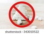 food  junk food  diet and... | Shutterstock . vector #343010522