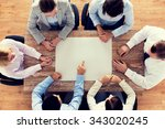 business  people and team work... | Shutterstock . vector #343020245