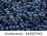 Red Wine Grapes Background Dark - Fine Art prints