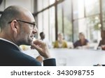 business people meeting... | Shutterstock . vector #343098755