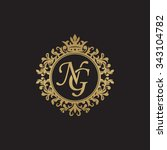 Ng Initial Luxury Ornament...