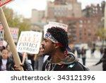 new york city   november 22... | Shutterstock . vector #343121396