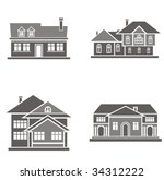 vector illustrations of four... | Shutterstock .eps vector #34312222