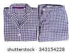 women's plaid pajamas white ...   Shutterstock . vector #343154228