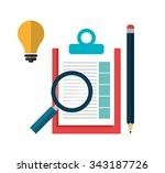 business project management... | Shutterstock .eps vector #343187726