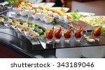 Food Buffet In Luxury...