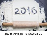 ready for new year's cake... | Shutterstock . vector #343192526