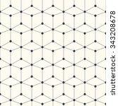 geometric vector pattern  ... | Shutterstock .eps vector #343208678