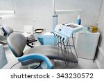 interior dental office   chair... | Shutterstock . vector #343230572