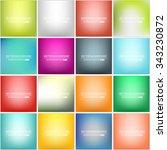 abstract creative concept... | Shutterstock .eps vector #343230872