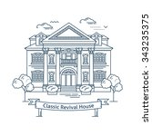 real estate market concept flat ...   Shutterstock .eps vector #343235375