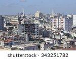 center of the old havana city... | Shutterstock . vector #343251782