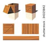 vector photorealistic box. | Shutterstock .eps vector #34325842