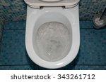 toilet  garbage  blockage....   Shutterstock . vector #343261712