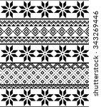 vector pixel seamless texture... | Shutterstock .eps vector #343269446
