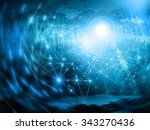 abstract blue background.... | Shutterstock . vector #343270436