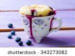 Mug Cake Prepared In Microwav...