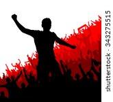 advertising banner for any... | Shutterstock .eps vector #343275515