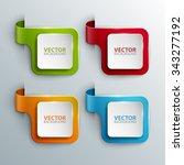 vector banners set. | Shutterstock .eps vector #343277192