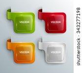 vector banners set. | Shutterstock .eps vector #343277198