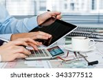 business accounting  | Shutterstock . vector #343377512