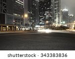 the road in the city | Shutterstock . vector #343383836