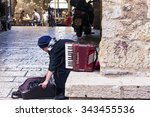 jerusalem  israel   october 13  ... | Shutterstock . vector #343455536