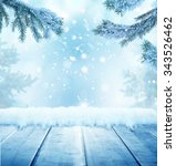 christmas background with... | Shutterstock . vector #343526462