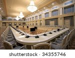 beautiful modern interior | Shutterstock . vector #34355746