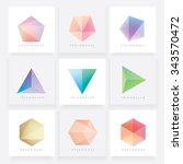 colorful collection set of soft ... | Shutterstock .eps vector #343570472