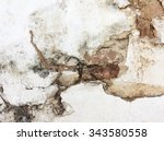 grunge wall of the old house.... | Shutterstock . vector #343580558