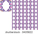 colorful pattern like mosaic | Shutterstock .eps vector #3435822