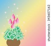 flower   Shutterstock . vector #343607162