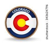 colorado seal   Shutterstock .eps vector #343624796