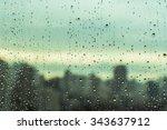 rain over bangkok | Shutterstock . vector #343637912