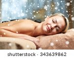 people  beauty  spa  winter and ... | Shutterstock . vector #343639862